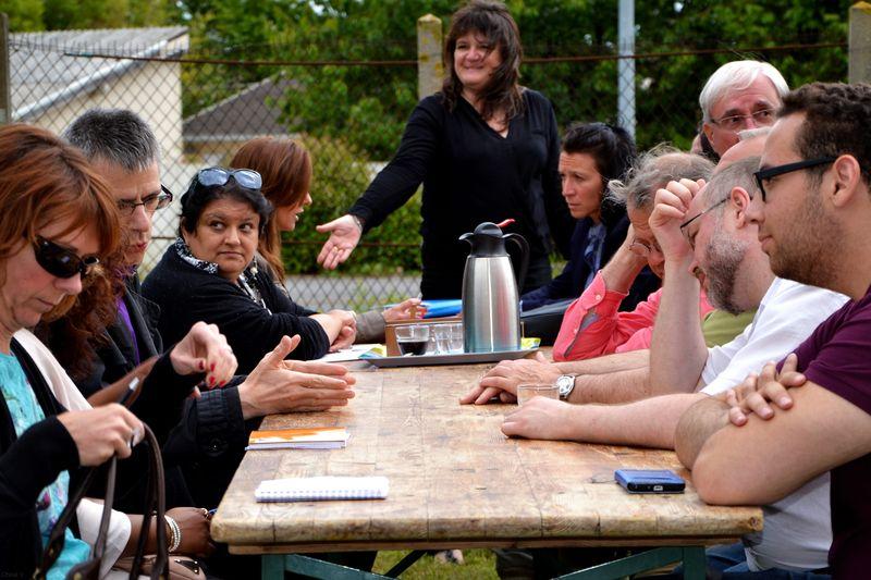 Nomade Office réunion des partenaires à Trilport 77