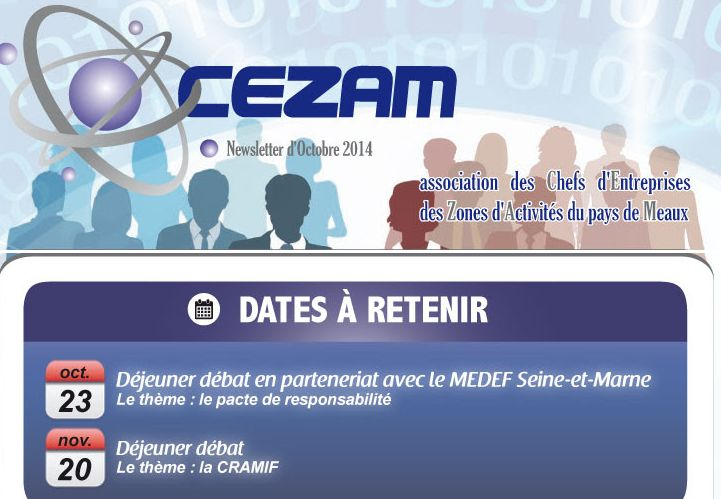 newsletter cezam